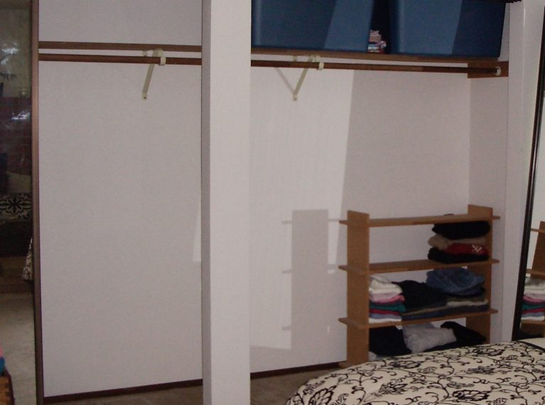 How to reorganize a closet