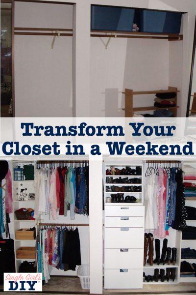 Transform your closet organization