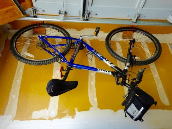 How to store a bicycle