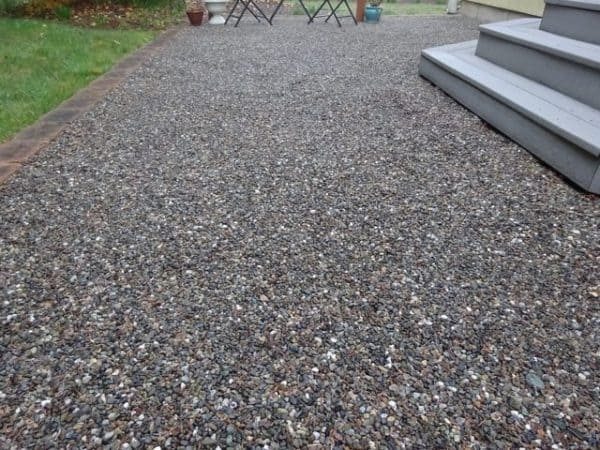 Attrayant Concrete Alternative Gravel Patio