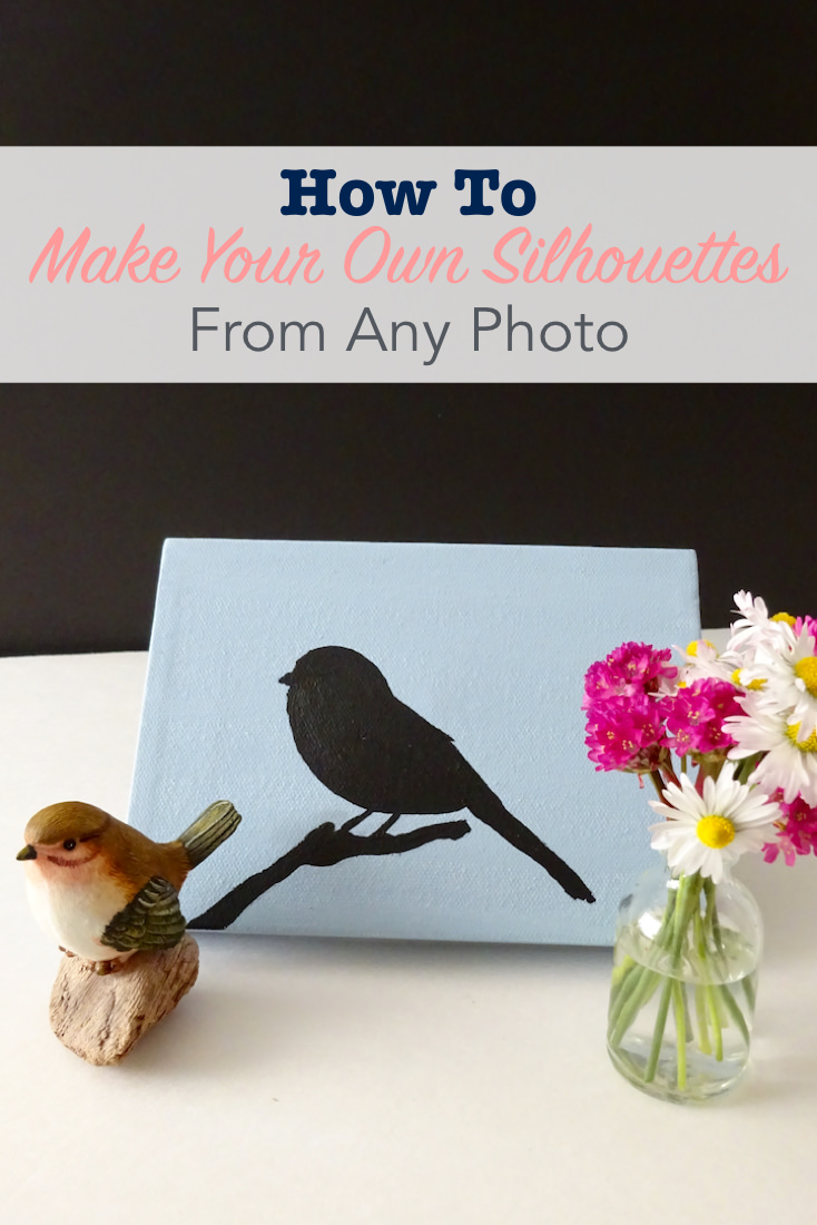 How to make your own silhouettes from any photo