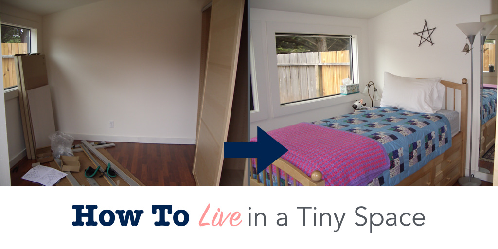 How to live in a tiny space