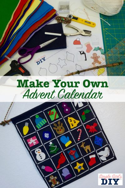 Make your own advent calendar