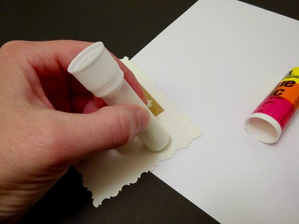 Make a gift tag from old cards