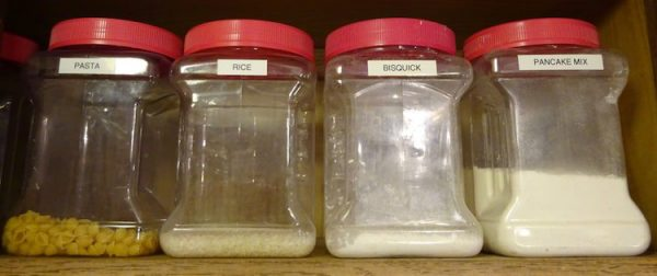 Dry Goods Containers for Storage