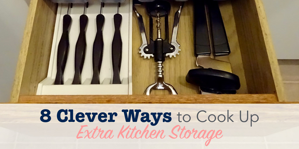 8 Clever Ways to Cook Up Extra Kitchen Storage | Single ...