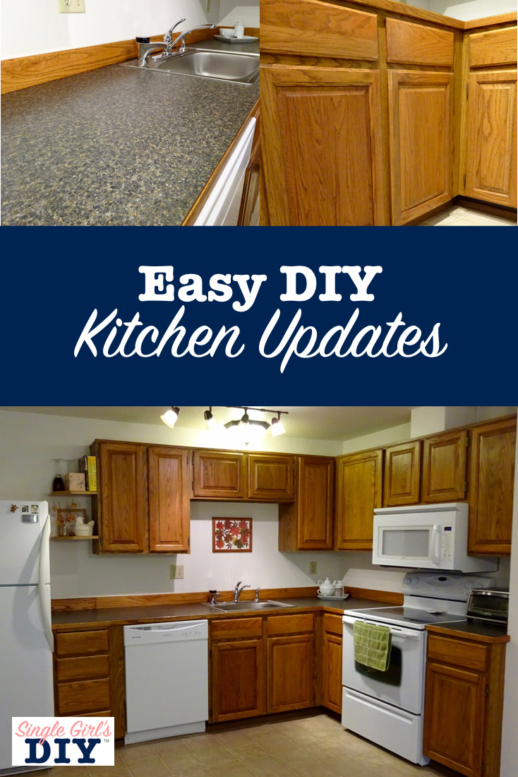 Super Thrifty Kitchen Updates You Can Do In A Weekend | Single Girlu0027s DIY