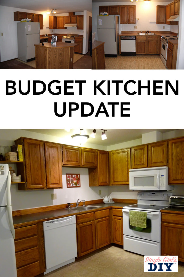 Super thrifty kitchen updates you can do in a weekend for Update my kitchen on a budget