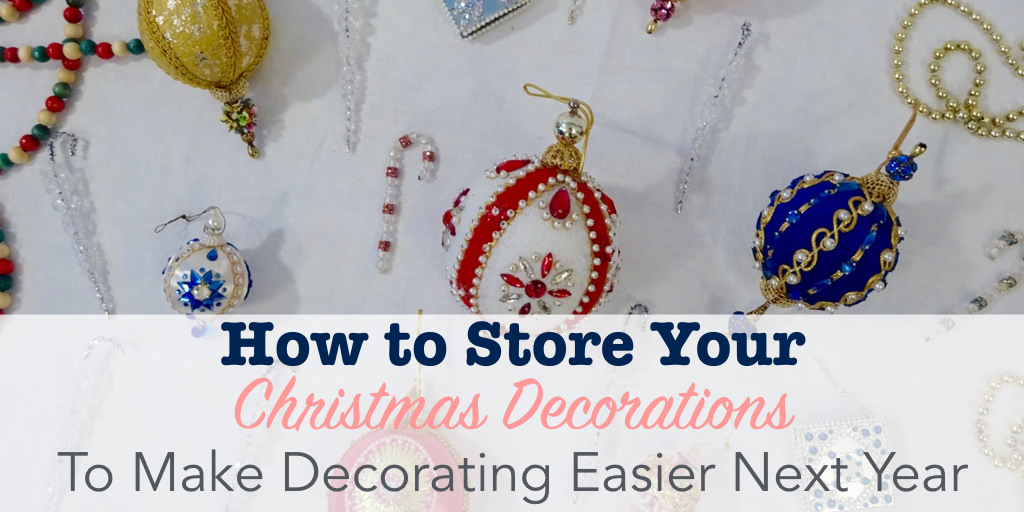 How To Store Your Christmas Decorations Single Girl 39 S Diy