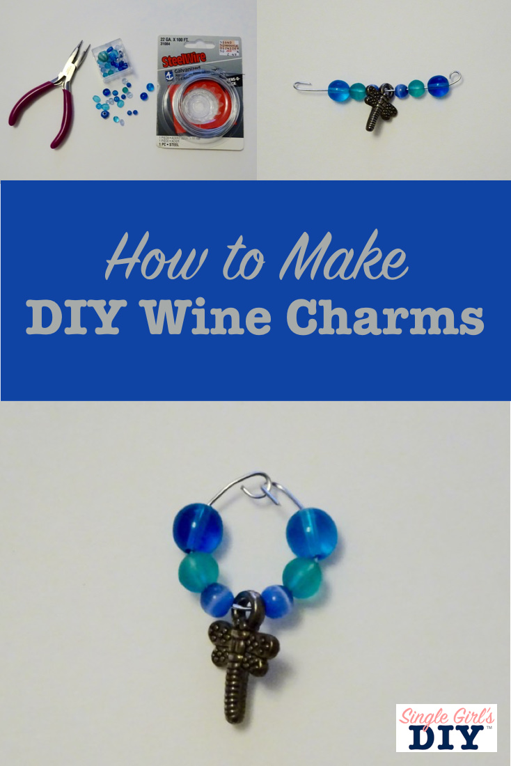 How to make DIY wine charms
