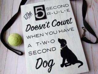 diy dog sign