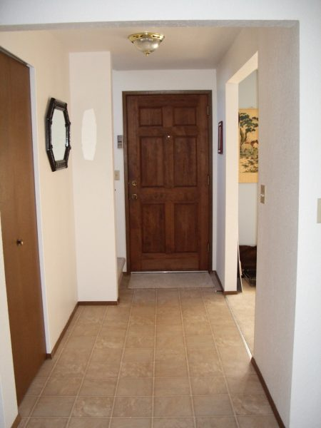 Home entryway needs furniture