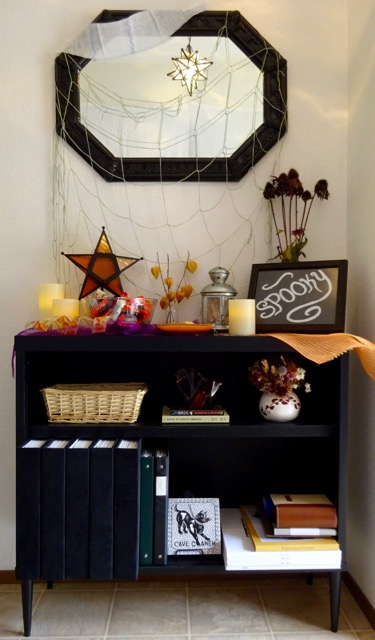 Halloween entry decorations