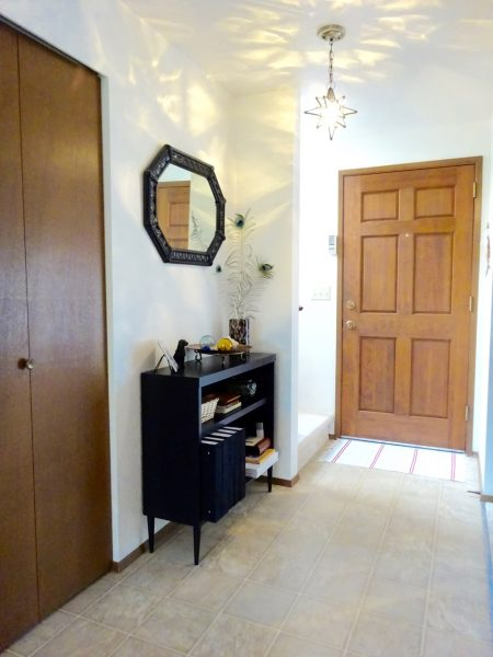 Welcoming home entryway