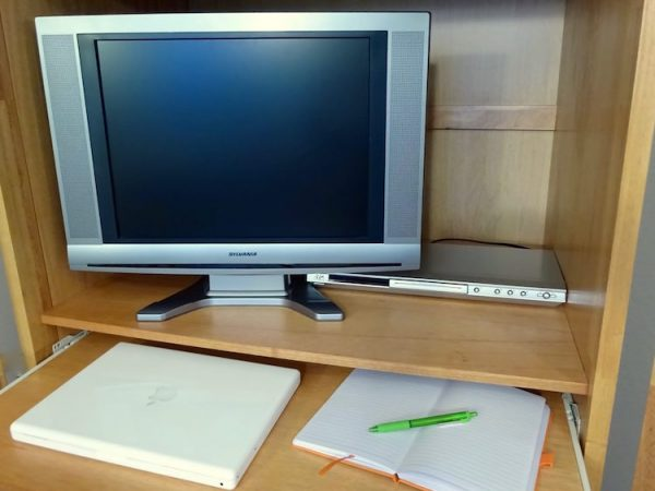 Home office computer storage