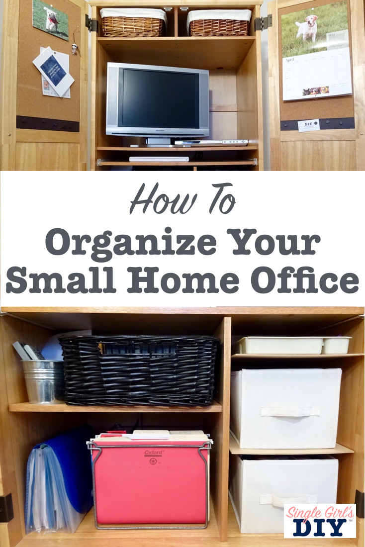How to organize your small home office
