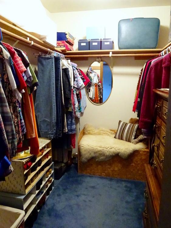Walk in closet update