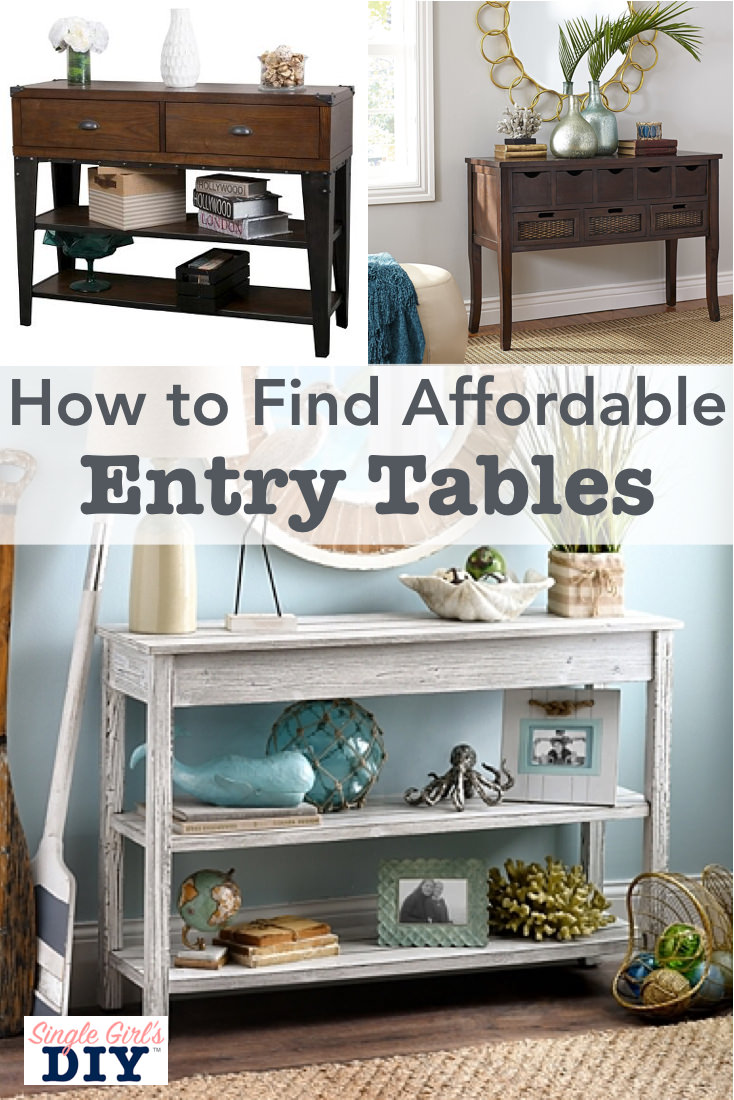 Shop for entry console tables