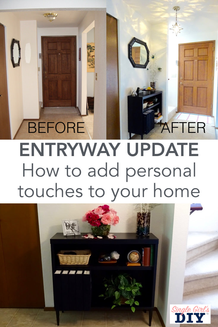 Entryway update ideas