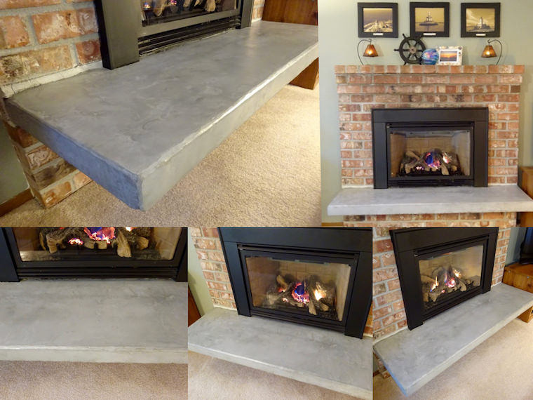 Quick And Easy Hearth Update With No Demolition Required Single