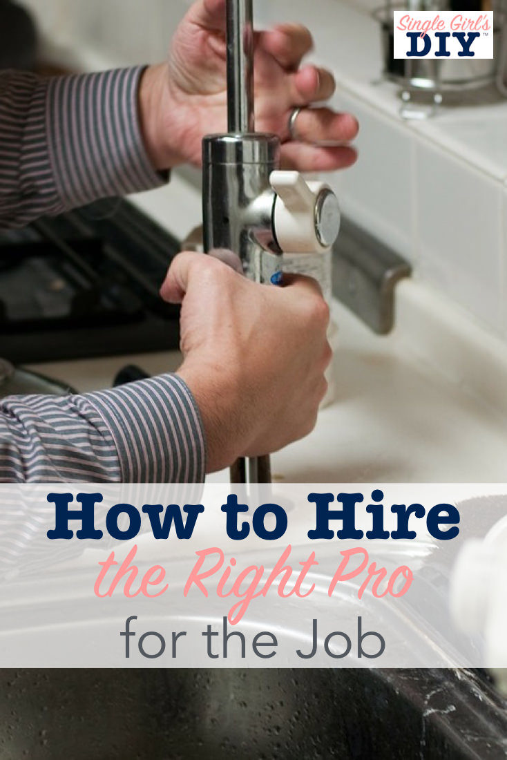 How to hire service professionals