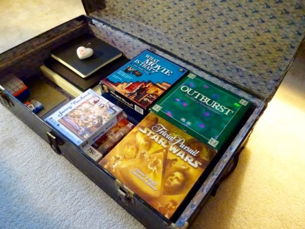 Trunk for game storage
