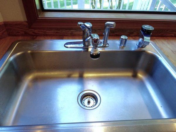 Fix a faucet
