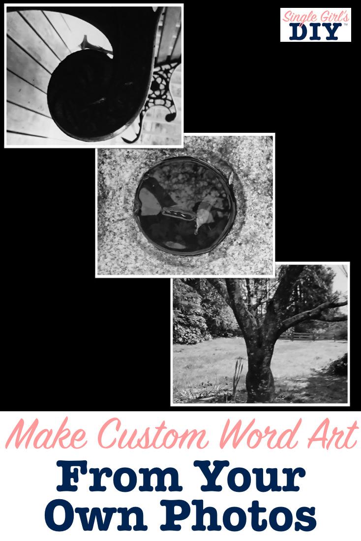 custom word art photos