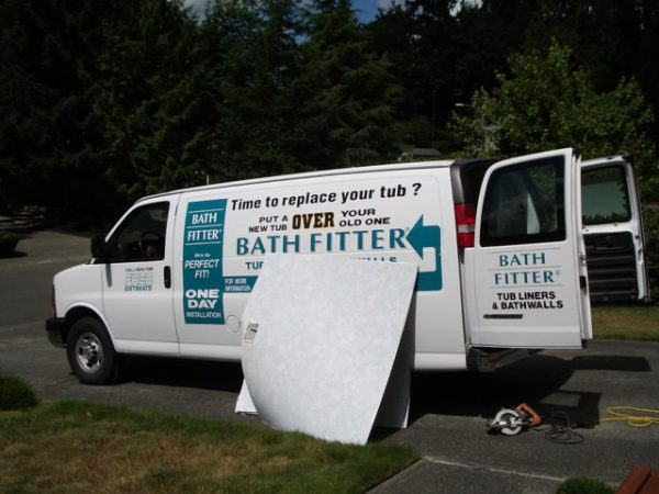 Bath Fitter professional van