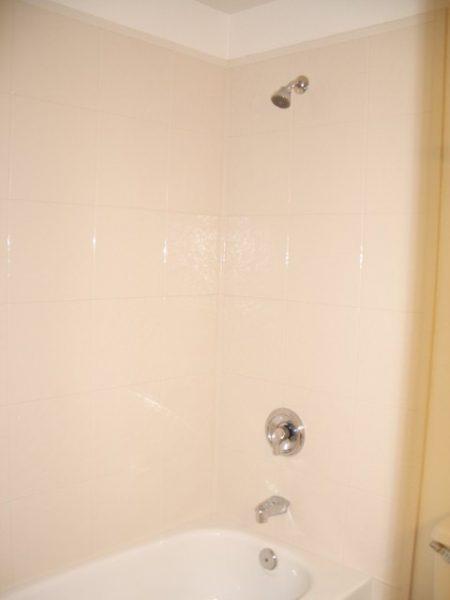 Bath Fitter walls installed