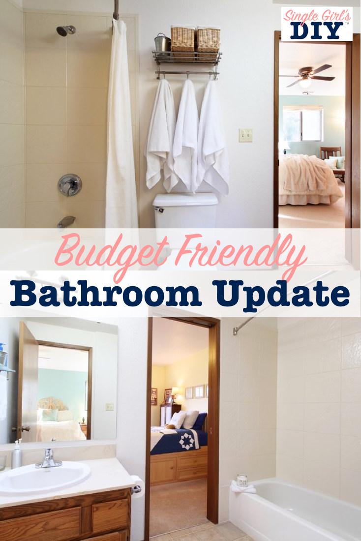 How to Update Bathtub Surround | Single Girl's DIY