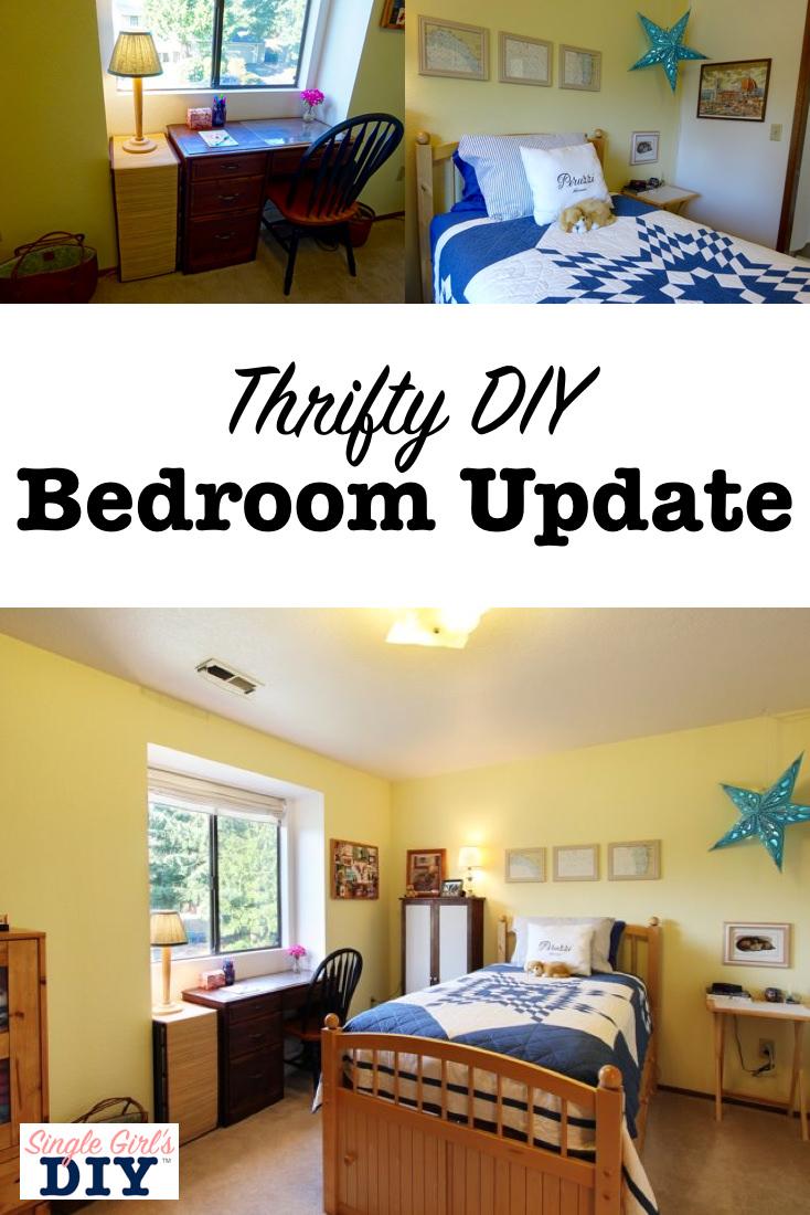 Thrifty DIY bedroom update