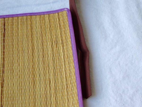 Bias tape mat edging