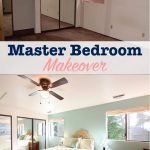diy master bedroom makeover before and after pictures