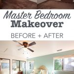 diy bedroom makeover with before and after pictures