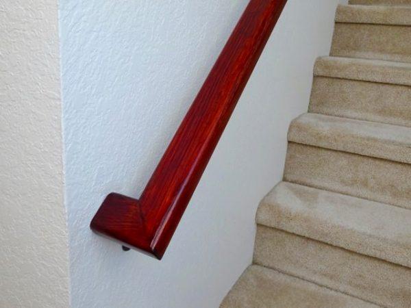 Refinished railing