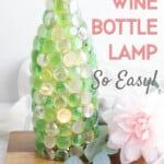 decorative bottle lamp