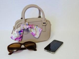 How to make a purse scarf