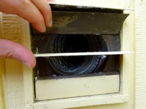 Exterior drier vent