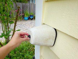 Cover hose spigots for winter
