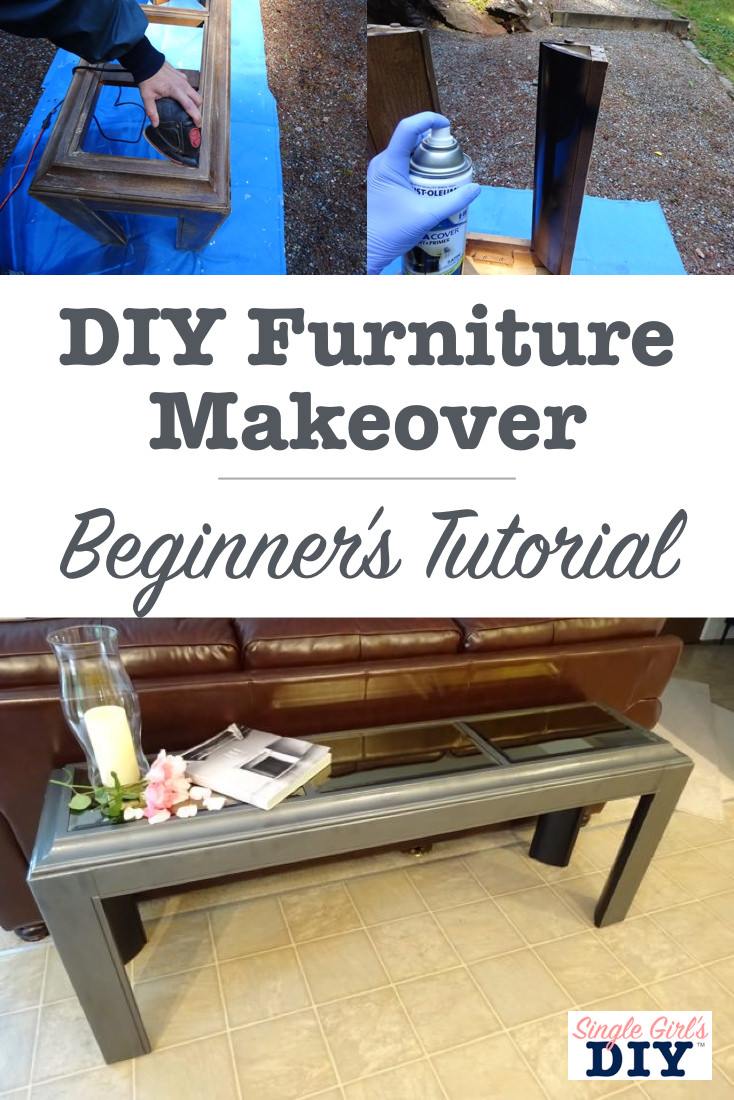 Furniture makeover tutorial