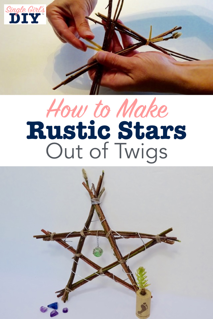 How to make stars out of sticks