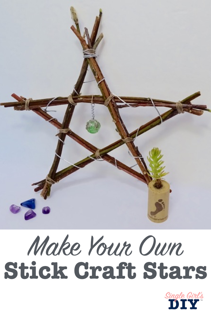 Make your own stick craft stars