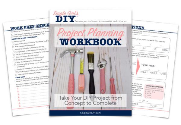 DIY project planning workbook sample