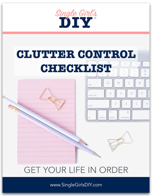 Clutter control checklist cover
