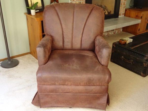 Thrift store chair to slip clover