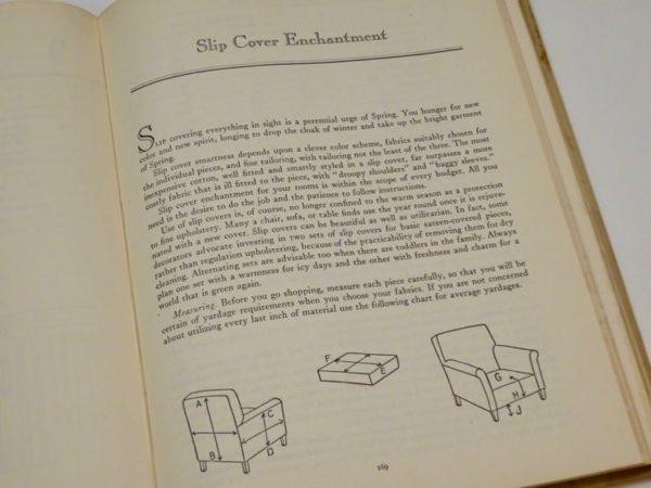 Slip cover instructions