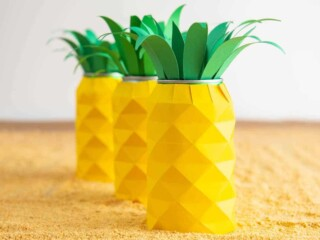 tropical luau party can koozies