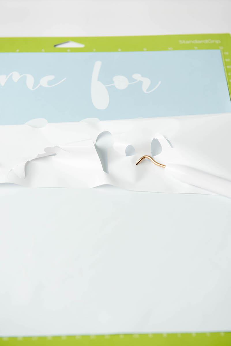 wedding Cricut adhesive vinyl