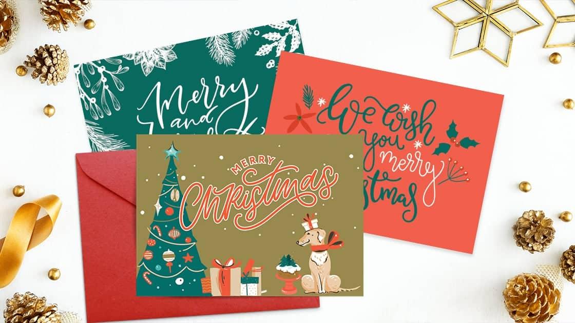 Free Printable Christmas Cards Single Girl's DIY